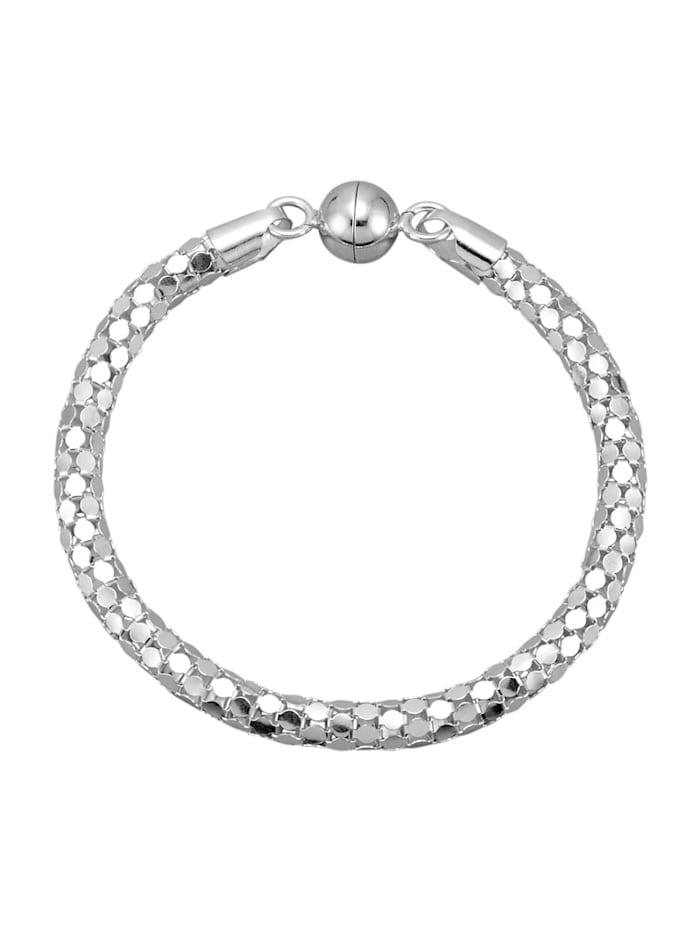 Diemer Trend Armband van echt zilver, Zilverkleur