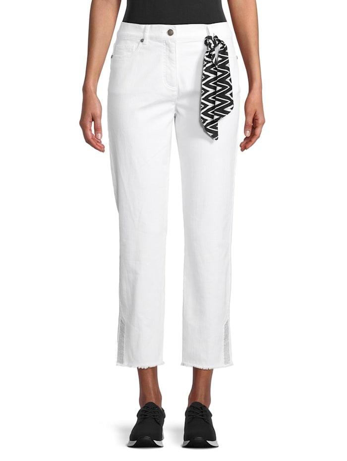 Betty Barclay Sommerhose mit aufgesetzten Taschen, Weiß