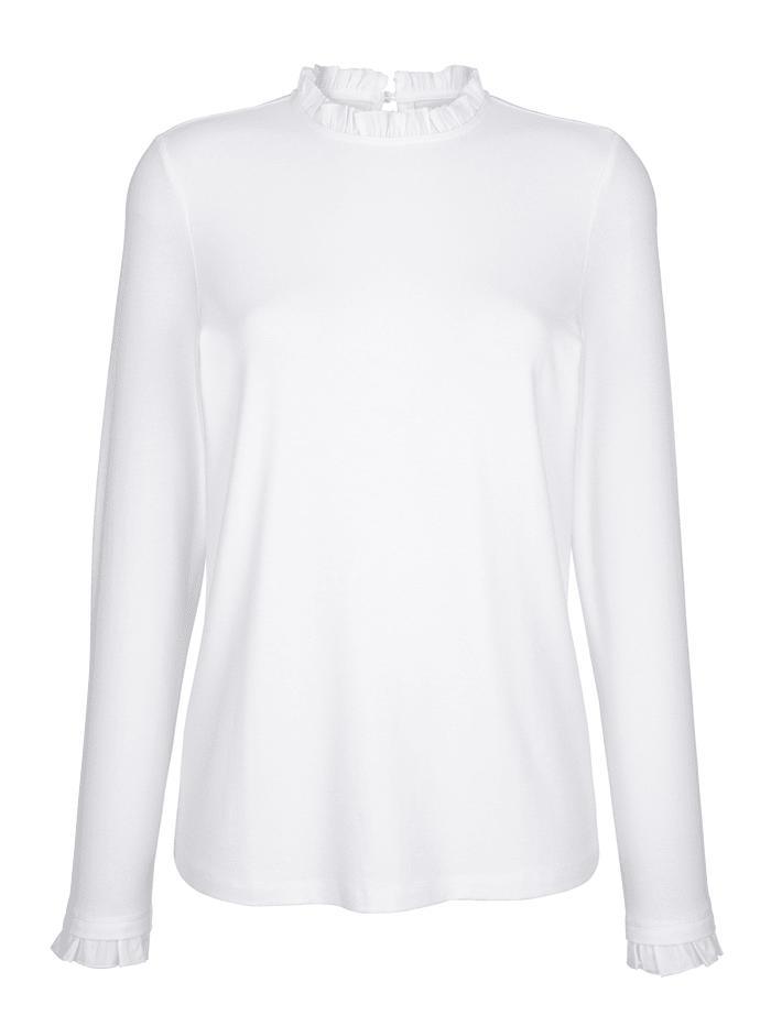 Shirt mit Rüschendeko