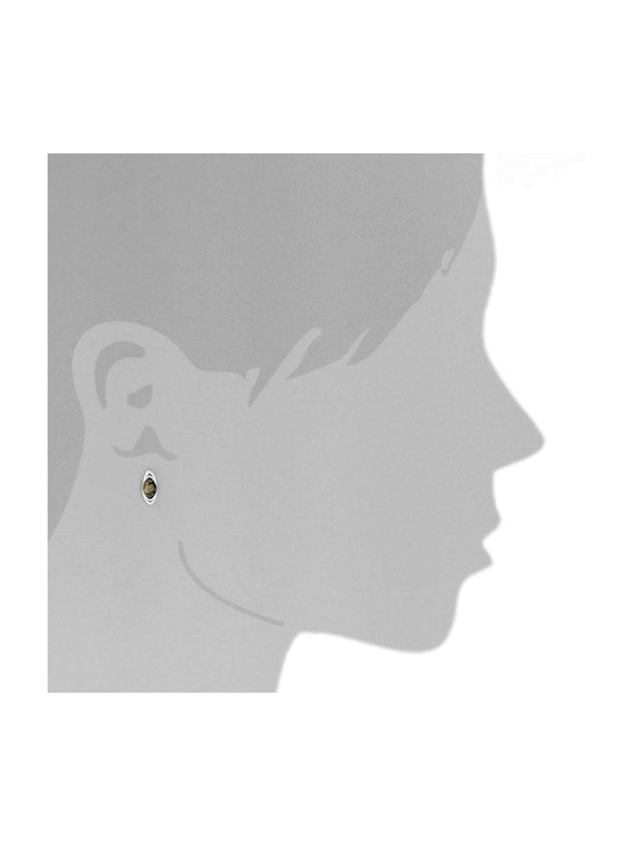 Ohrstecker - Telia - Silber 925/000 - Bernstein
