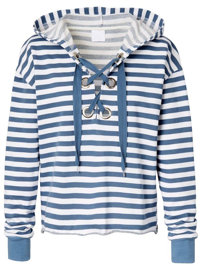 REKEN MAAR Sweatshirt, Blau