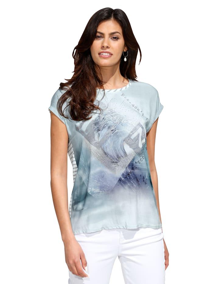 Betty Barclay Shirt met print voor, Mint