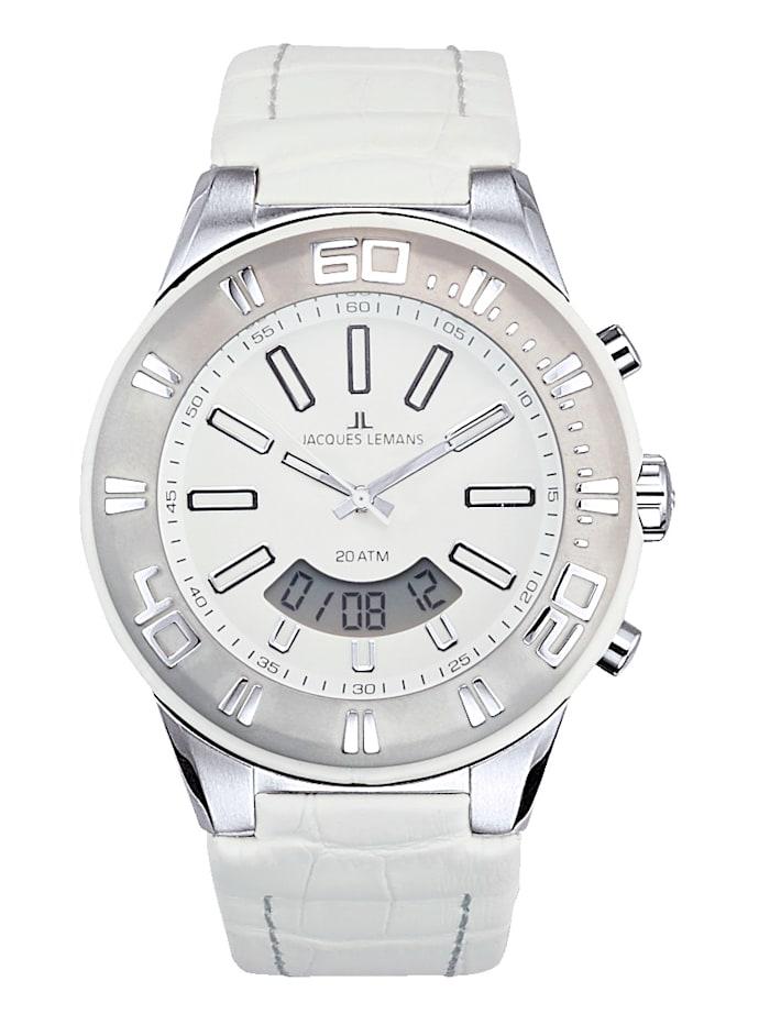 Jacques Lemans Horloge 1-1772B, Wit