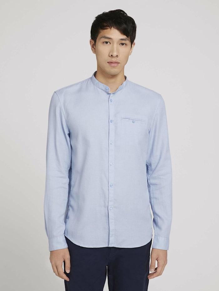 strukturiertes Hemd