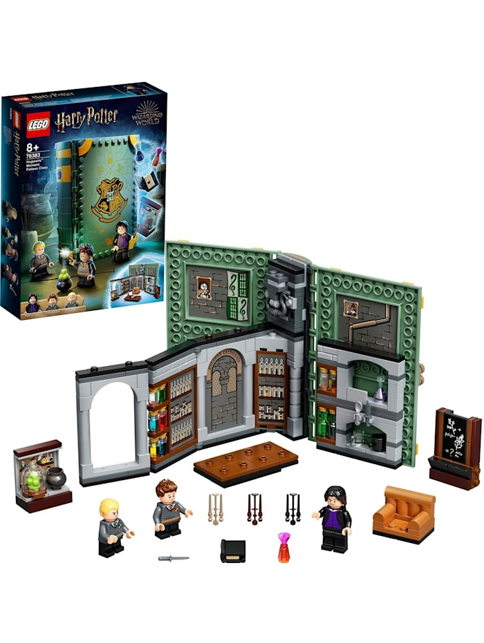 LEGO Konstruktionsspielzeug Harry Potter Hogwarts Moment: Zaubertrankunterricht, Bunt