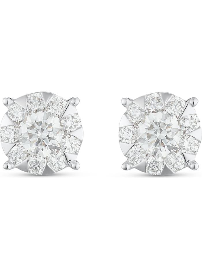 CHRIST C-Collection CHRIST Damen-Ohrhänger 585er Weißgold 20 Diamant, weißgold