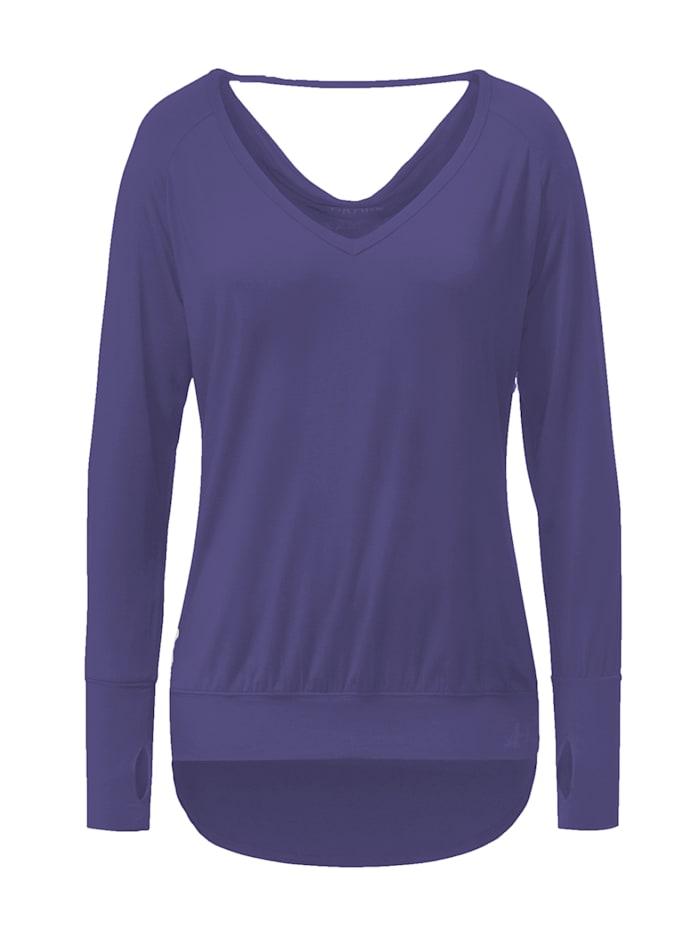 Yoga-shirt - Brombeere