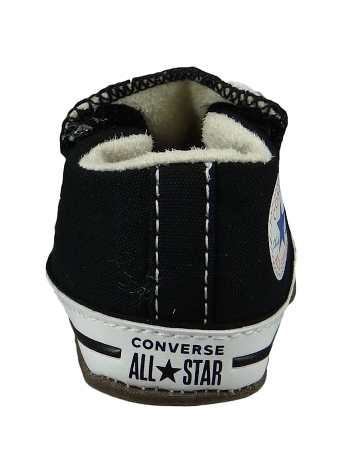 Baby Chucks Schwarz Chuck Taylor All Star Cribster Canvas Color - Mid Black Natural Ivory White