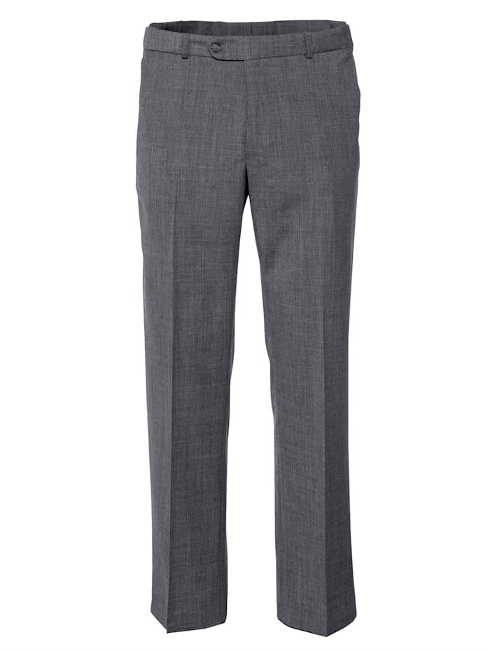 BABISTA Pantalon de voyage en laine à 7 cm de largeur en plus, Gris