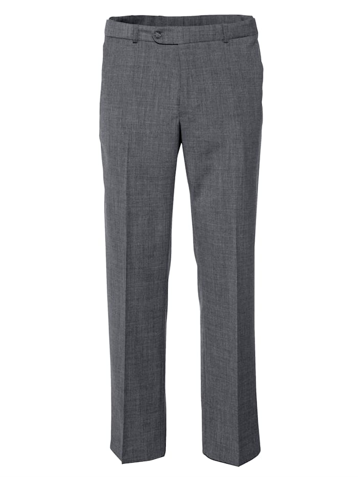 BABISTA Pantalon en laine avec 7 cm d'ampleur supplémentaire à la taille, Gris