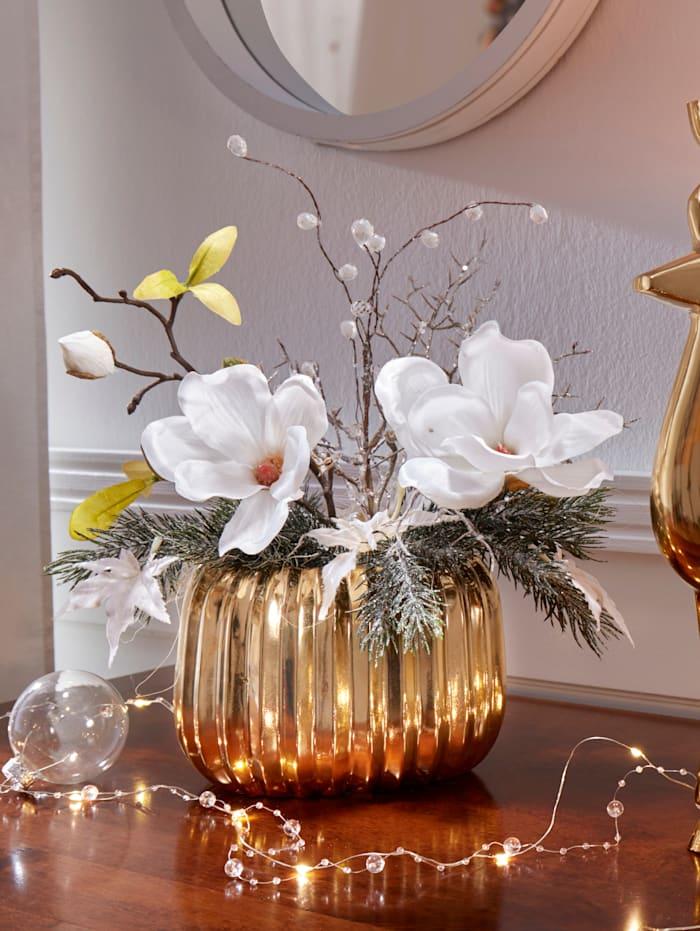 Arrangemang med magnolia