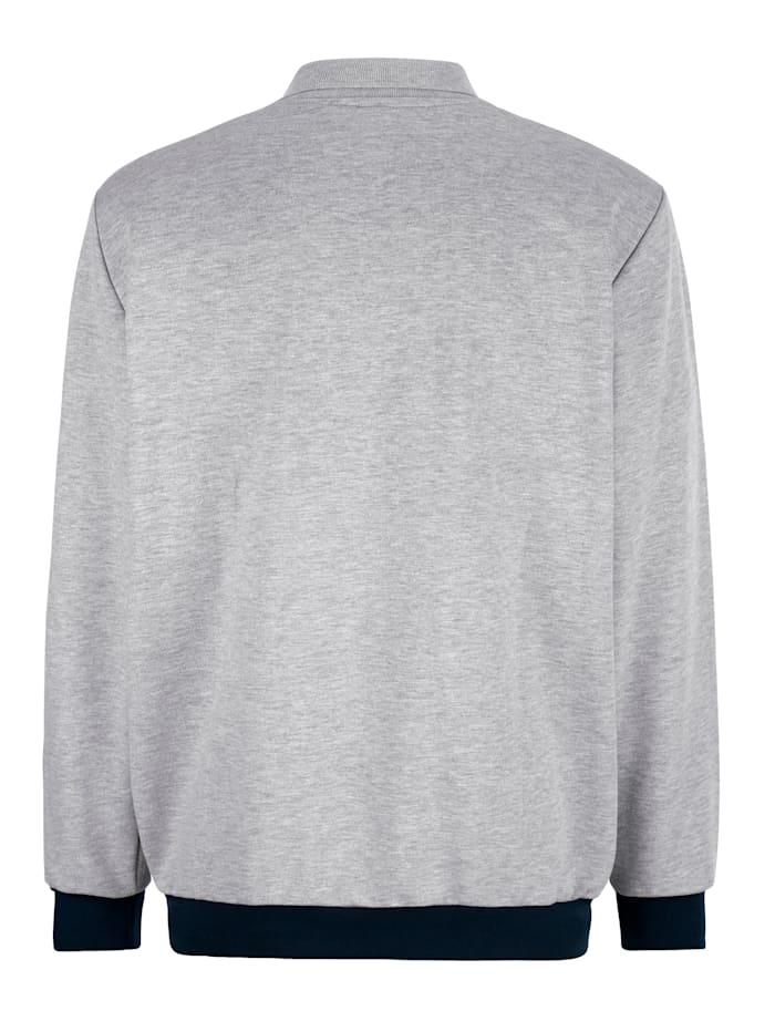 Sweatshirt mit Streifendruck