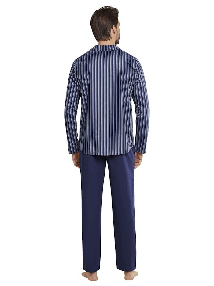 Pyjama, durchgeknöpft