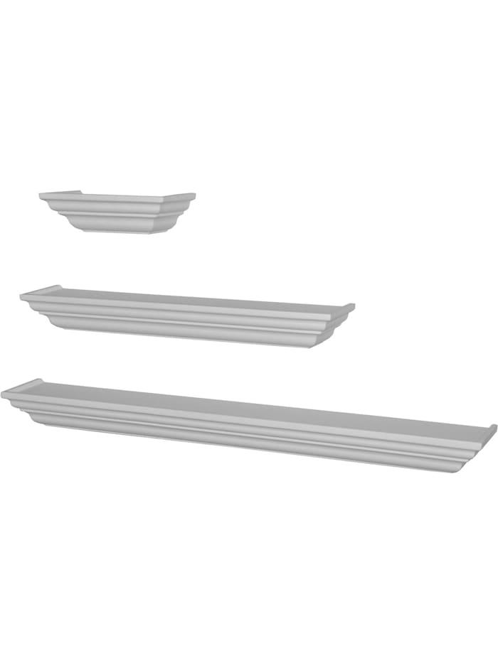 Möbel-Direkt-Online Wandkonsole Simone, weiß, 25 cm breit