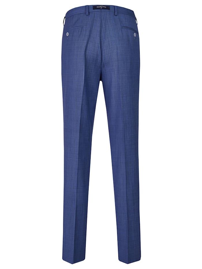 Edle Anzug-Hose mit elegantem minimal Karo