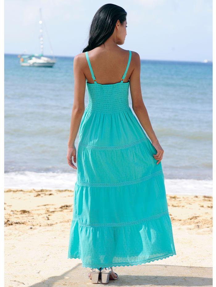 Strandkleid in Stufenoptik