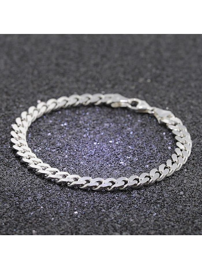 Armband für Männer 925 Silber Massiv Panzerkette Breite 6,9 mm