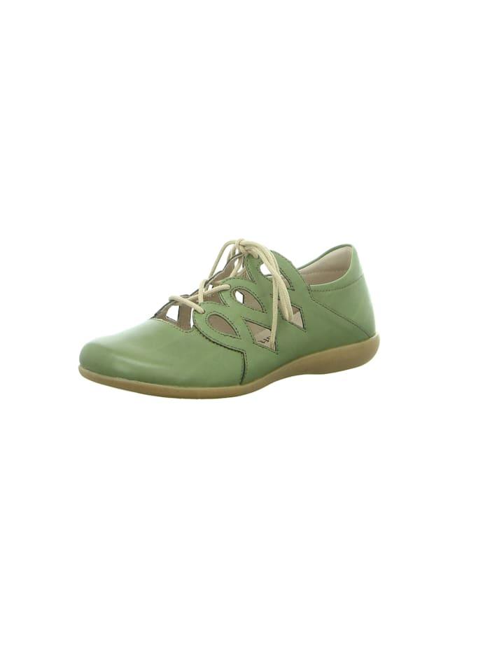 Remonte Schnürschuhe, grün