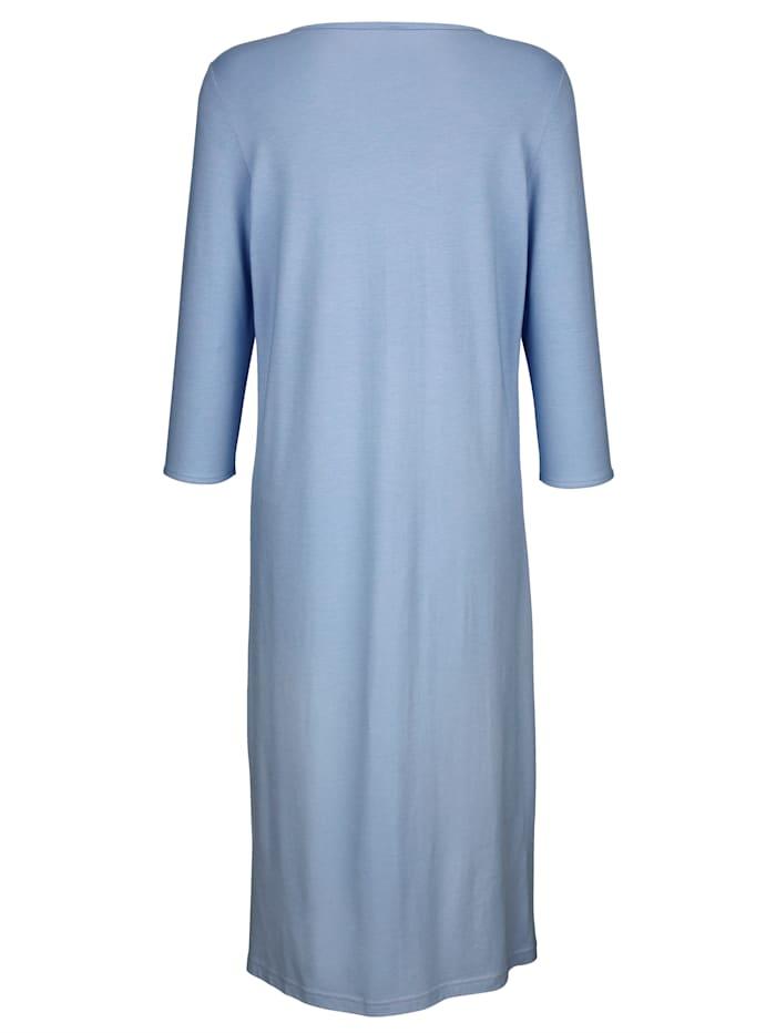Nachthemd mit elegantem Spitzeneinsatz