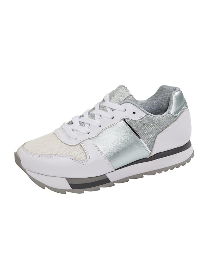 24 Hours Sneaker met EVA-tussenzool, Wit