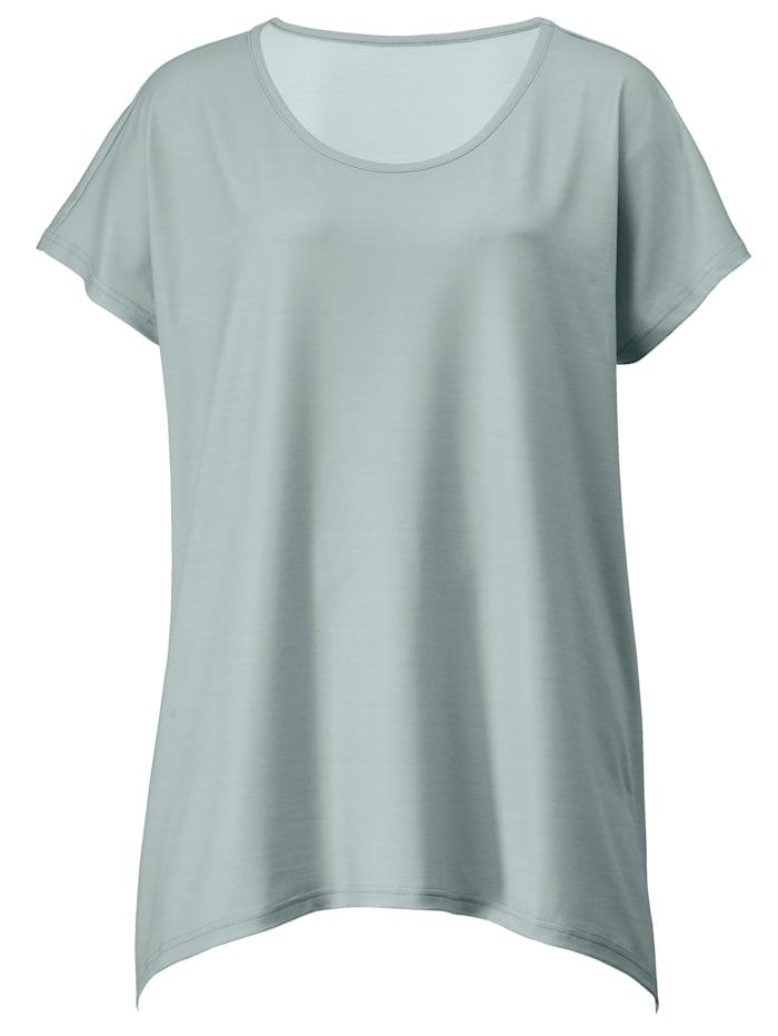 Shirt met langere achterkant