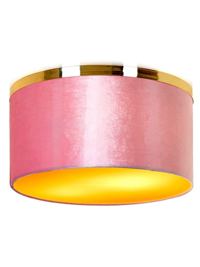 IMPRESSIONEN living Deckenleuchte, rosé/gold