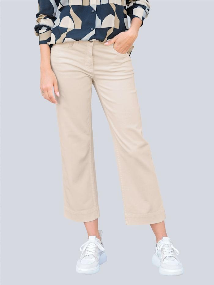 Alba Moda Jeans Culotte in komfortabler elastischer Qualität, Off-white