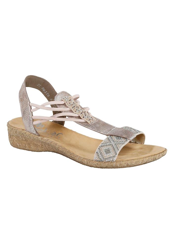 Kapealestiset rieker-sandaalit