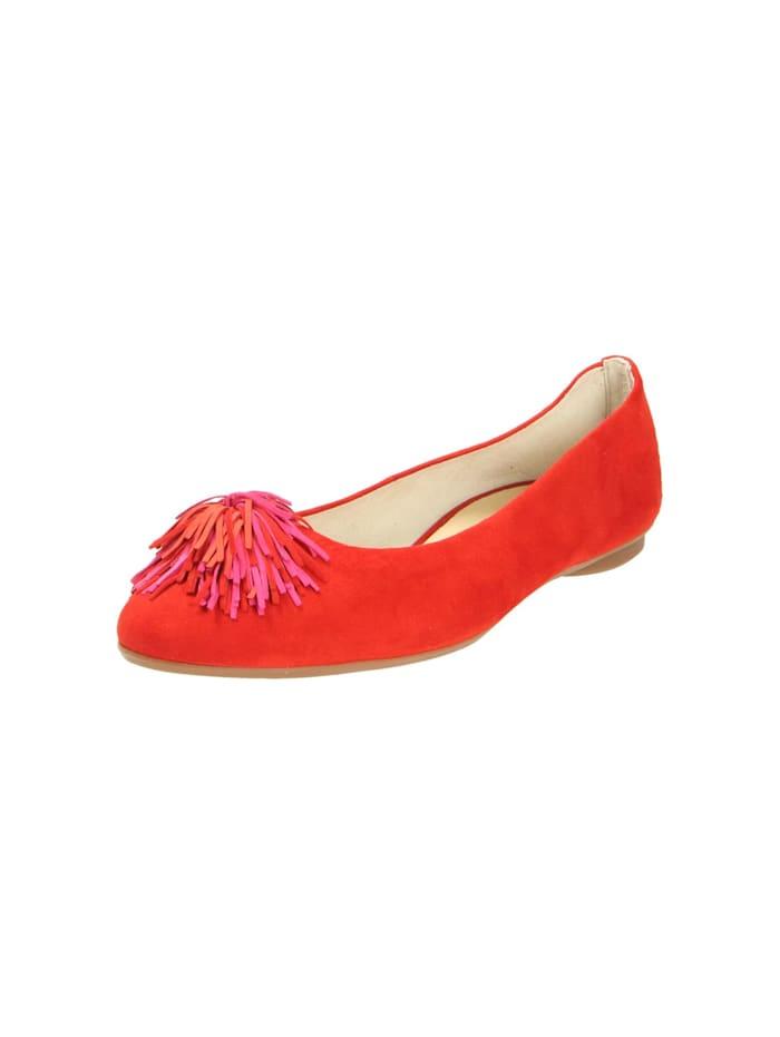 Paul Green Damen Ballerina in rot, rot