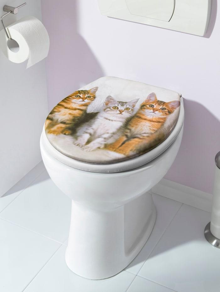 Soft-toiletbril Katten