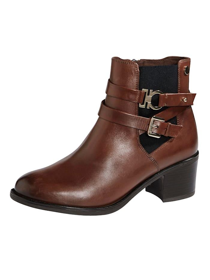 MONA Ankle boots, Cognac