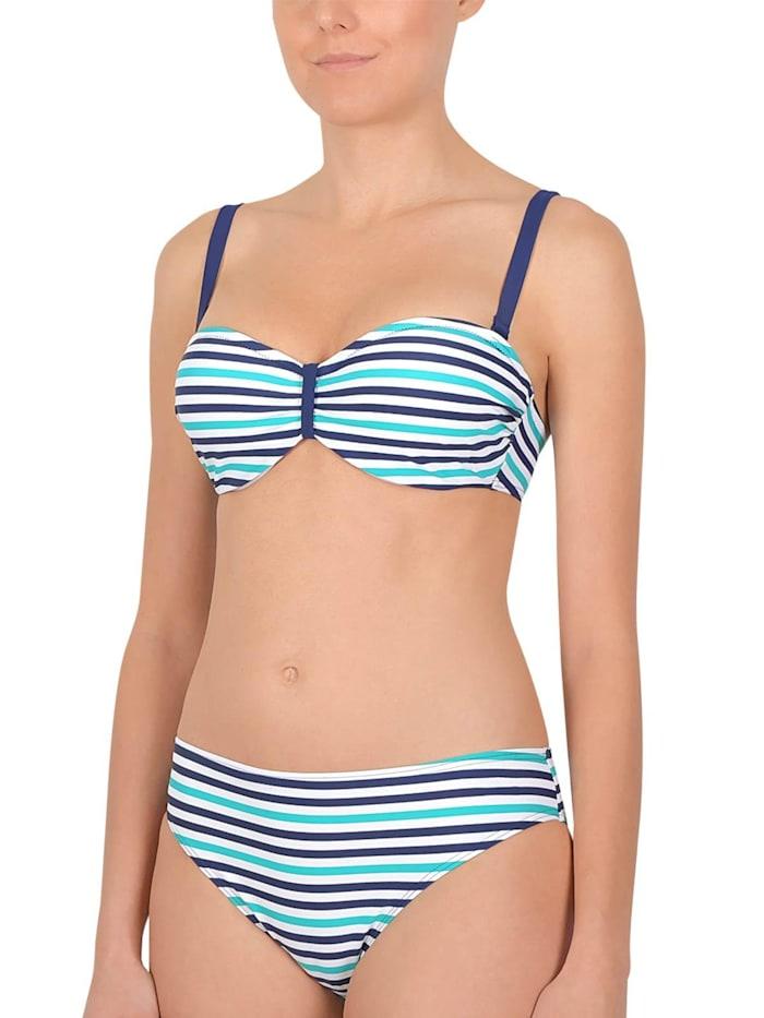 Damen Bandeau Bikini gepaddet
