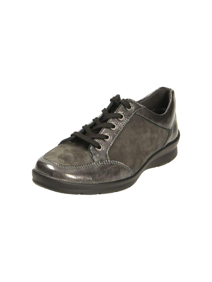 Semler Damen Schnürschuh in grau, grau