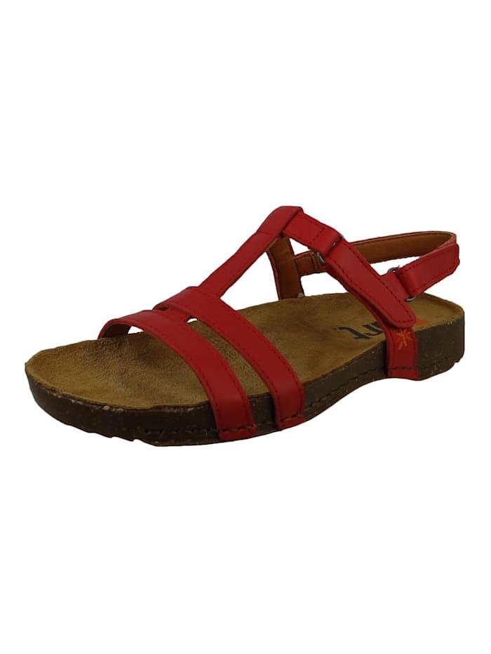 *art 0946 I Breathe Damen Leder Sandale Red Rot, Red