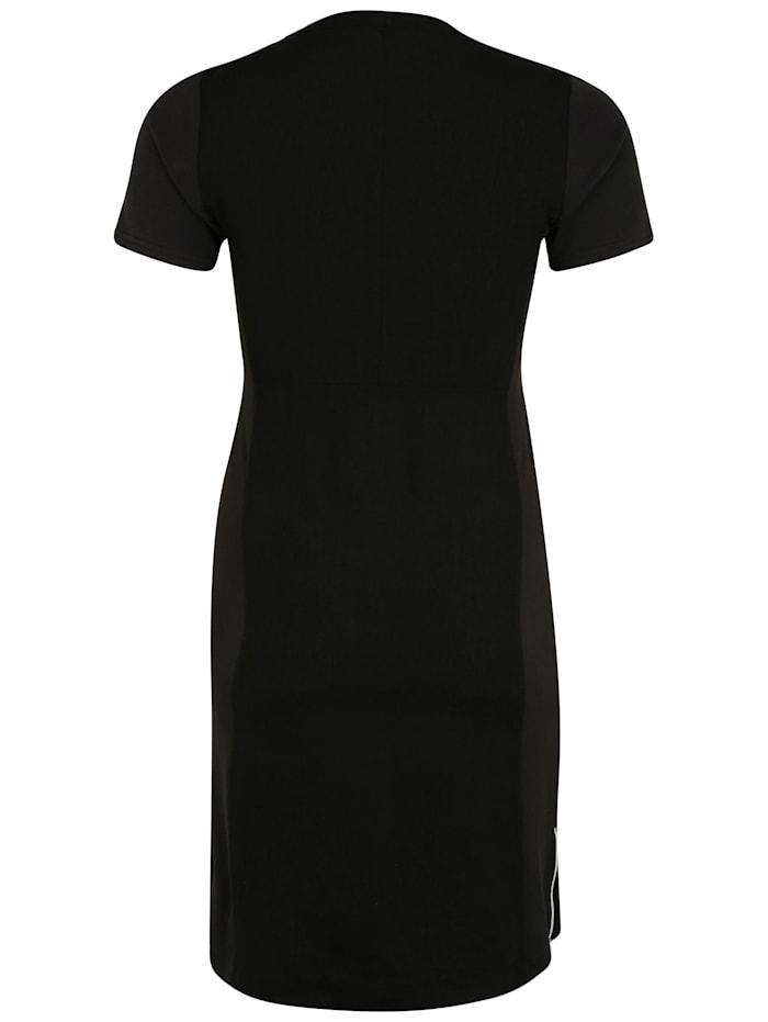 Kleid mit Reißverschluss-Ausschnitt