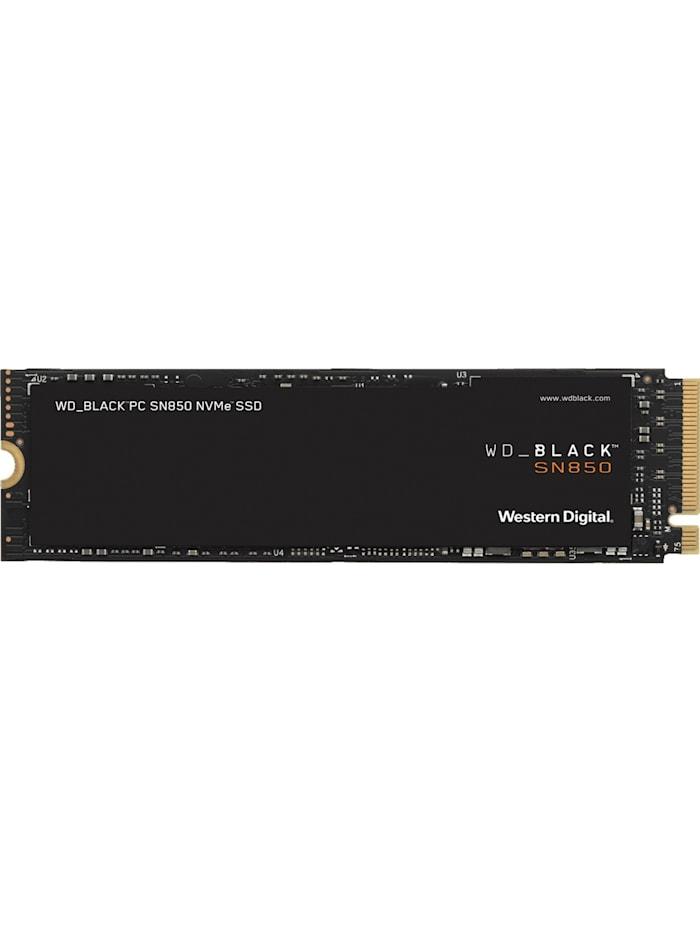 Western Digital SSD Black SN850 NVMe SSD 500 GB, Schwarz