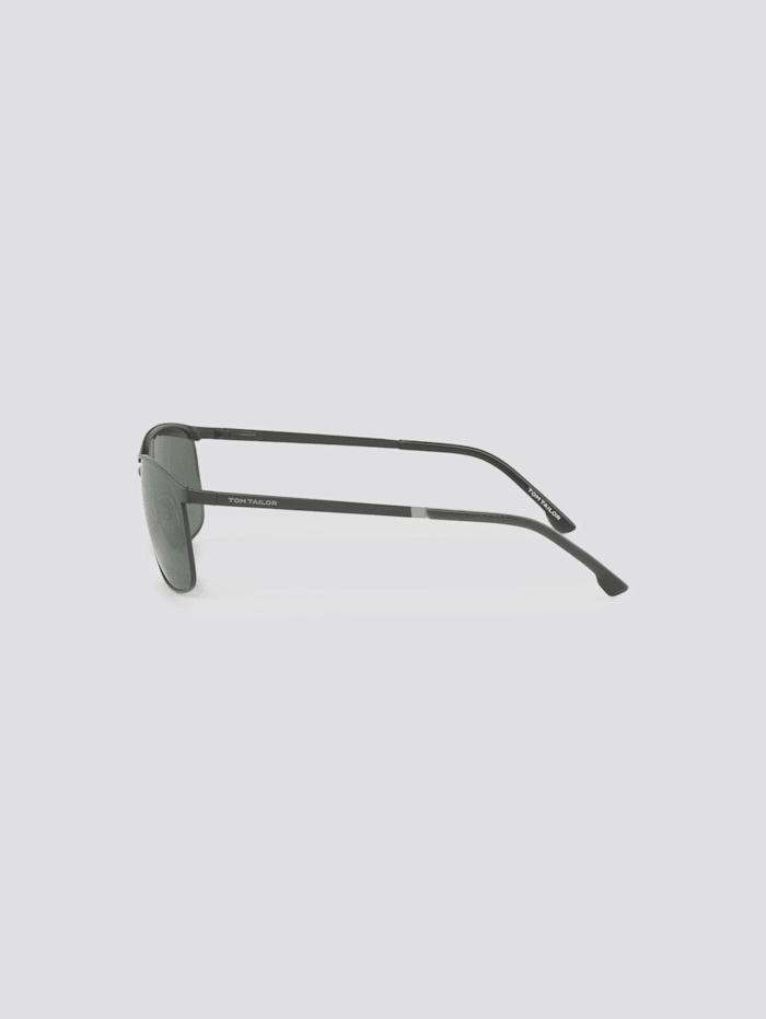 Verspiegelte Piloten Sonnenbrille mit Federscharnier