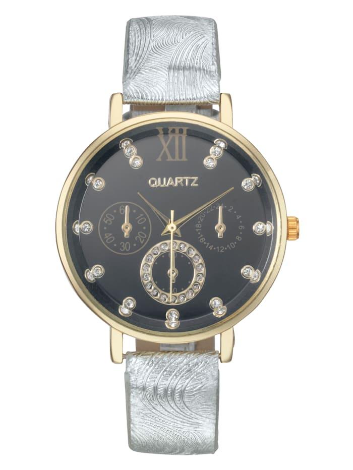 Laura Kent Horloge, Zilverkleur
