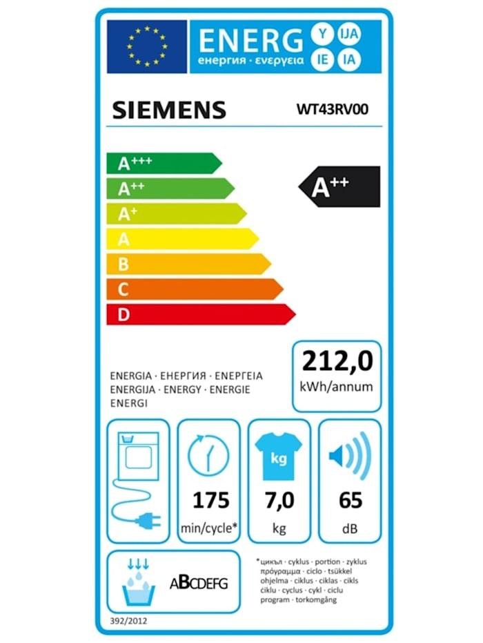 Wärmepumpen-Kondensationstrockner WT43RV00 iQ300
