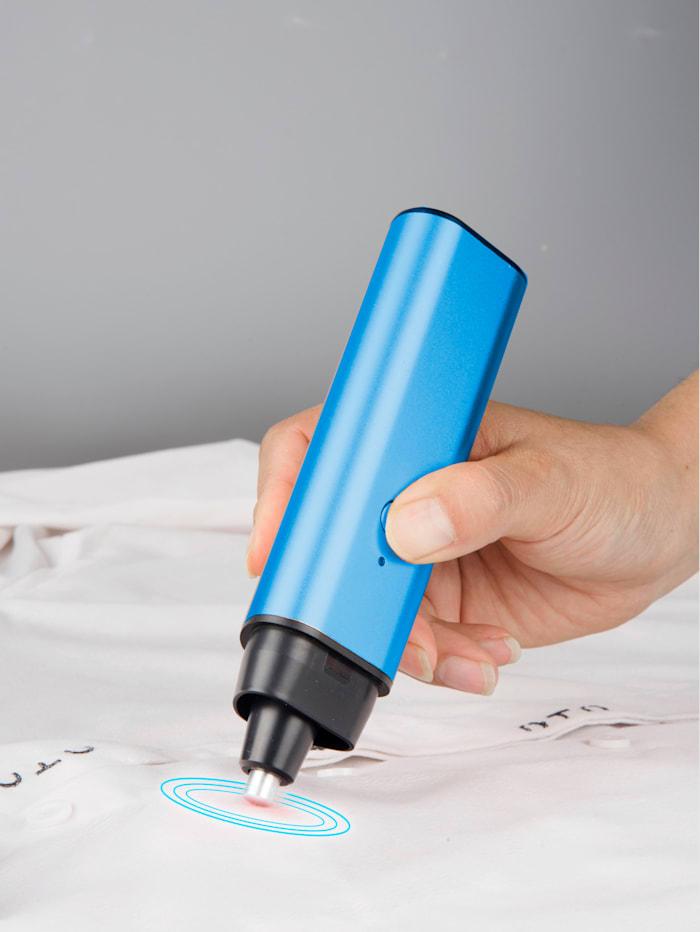 Ultraschall Fleck-Weg-Stift 'Clever Clean', blau