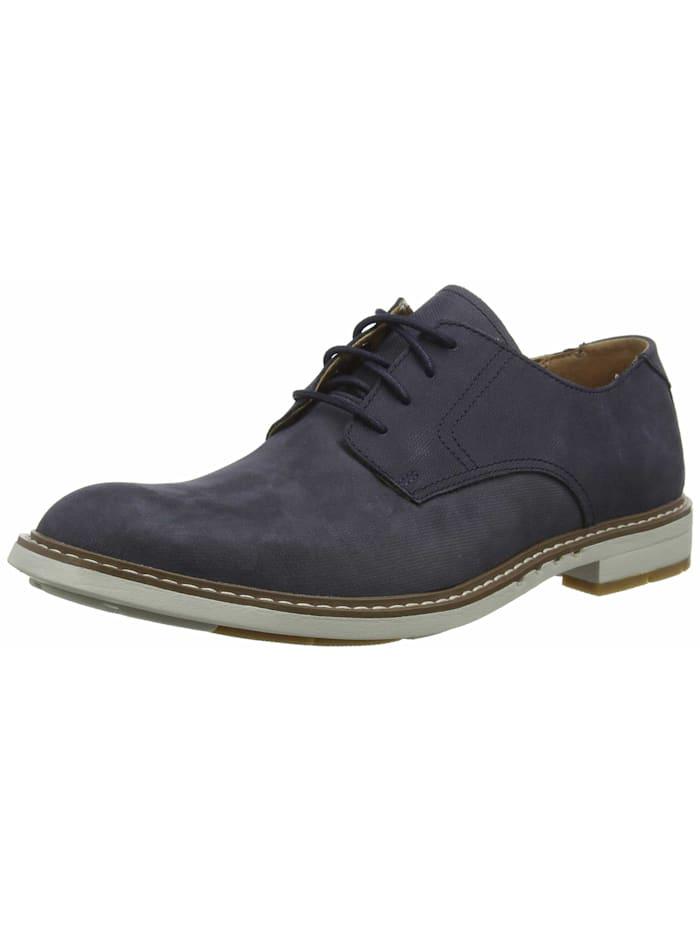Clarks Schnürschuh Schnürschuh, dunkel-blau