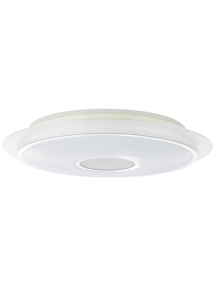 Viktor LED Deckenleuchte 57cm weiß-silber