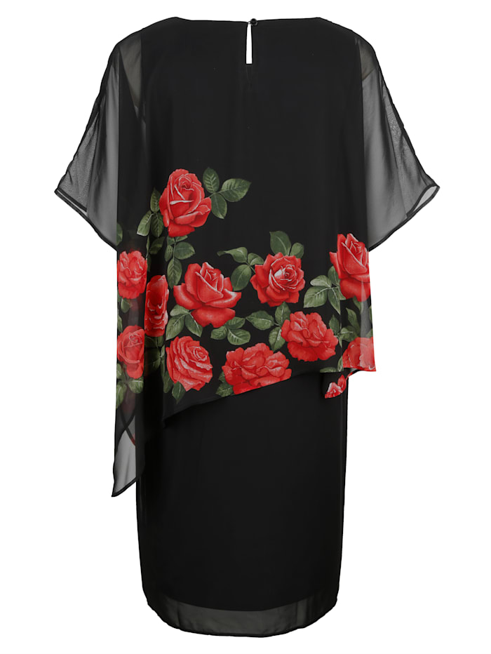 Kleid in raffinierter 2-in-1 Optik
