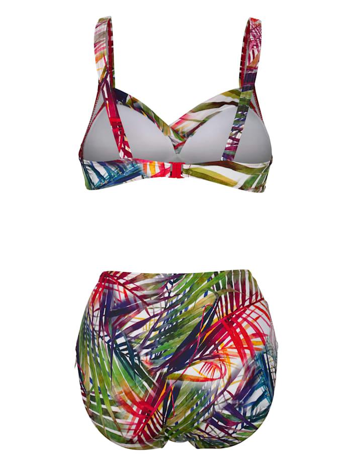 Bikini im sommerlichen Tropicalprint