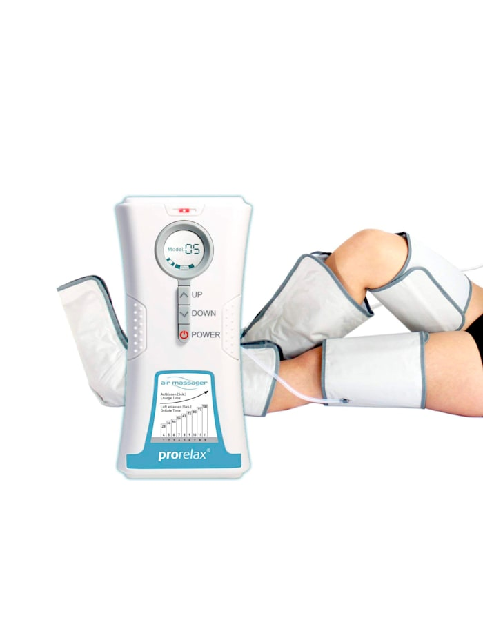 Prorelax Prorelax® Air Massager voor een beenmassage, wit