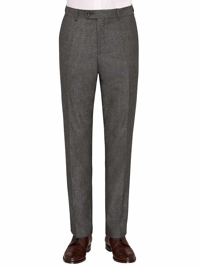 Carl Gross CG Silas Anzug-Hose aus reiner Schurwolle, Grau