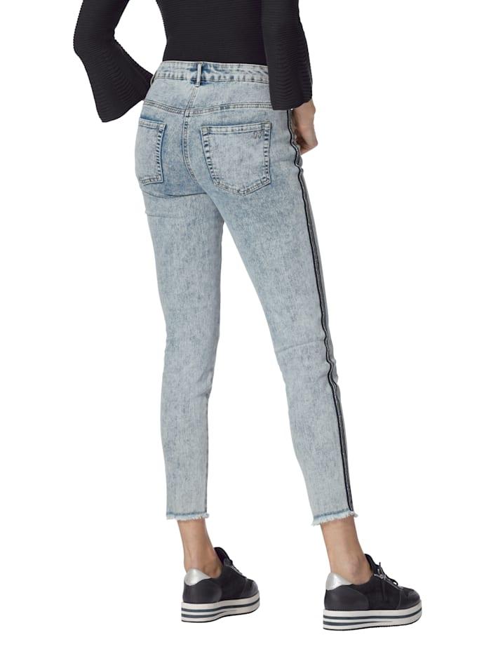 Jeans mit Zierband