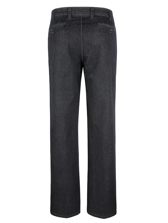 Jeans met kasjmiertouch