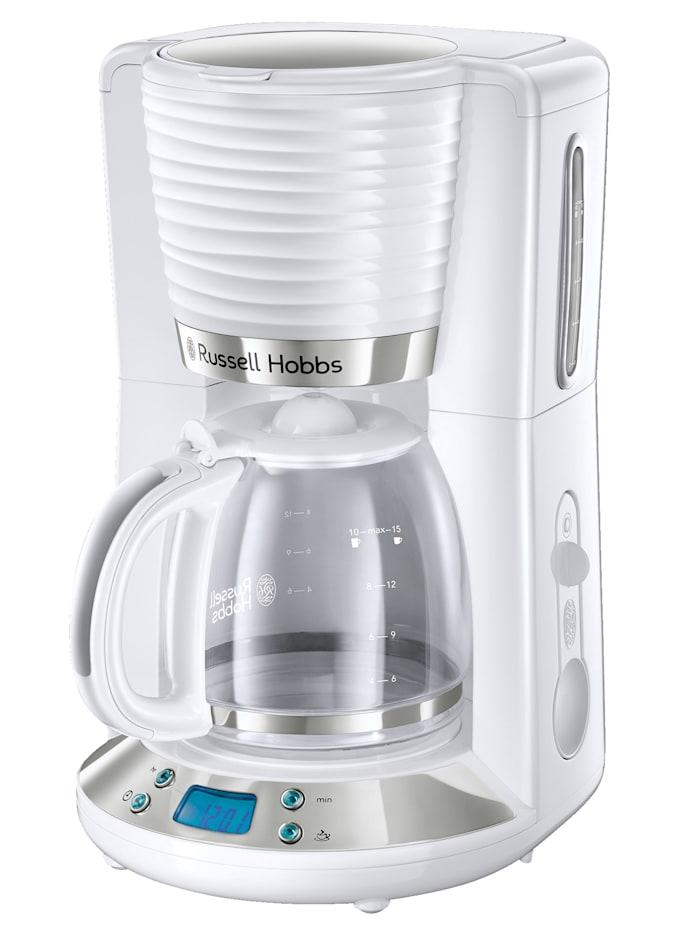 Russell Hobbs Russell Hobbs Digitale Glas-Kaffeemaschine 'Inspire White' 24390-56, weiß