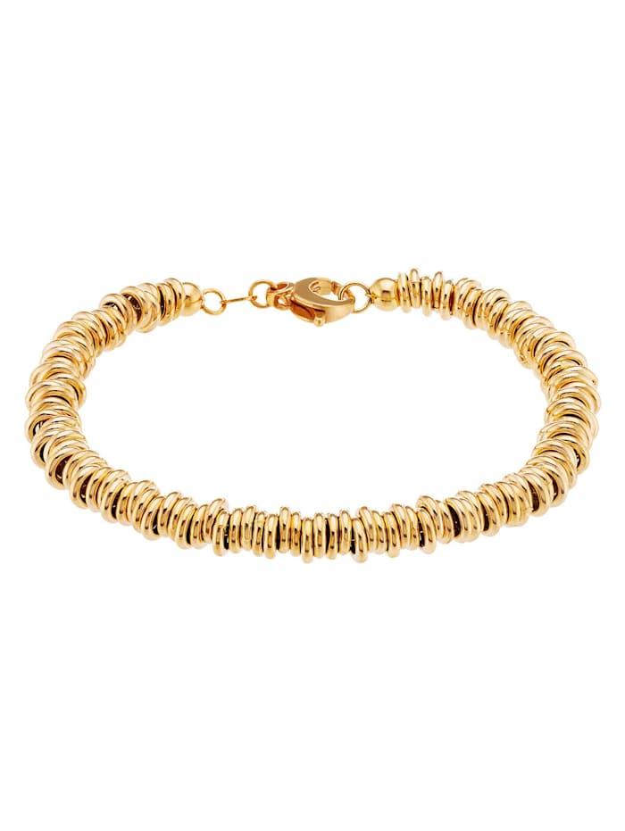 CHRIST C-Collection CHRIST Damen-Armband Weißgold/Rotgold, gold